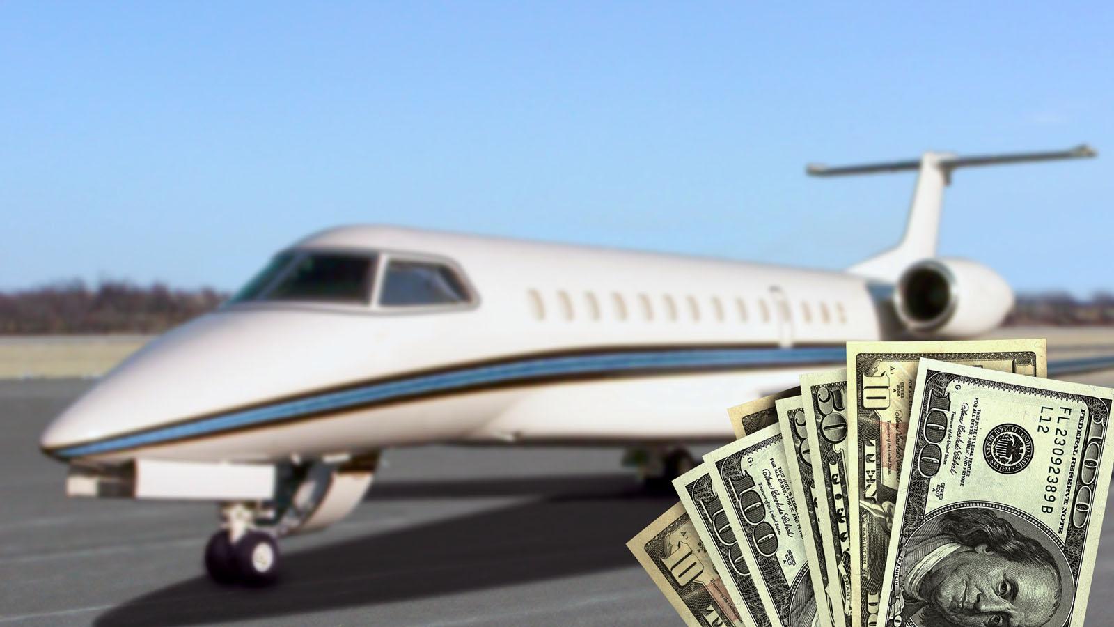 Flugzeugverkauf