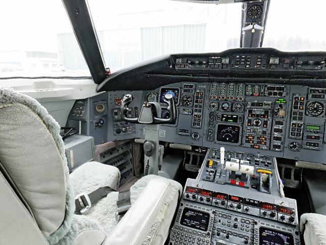 360 Grad Panorama - Cockpit
