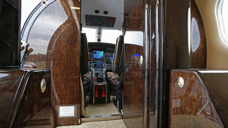 Pilatus_PC12_interior