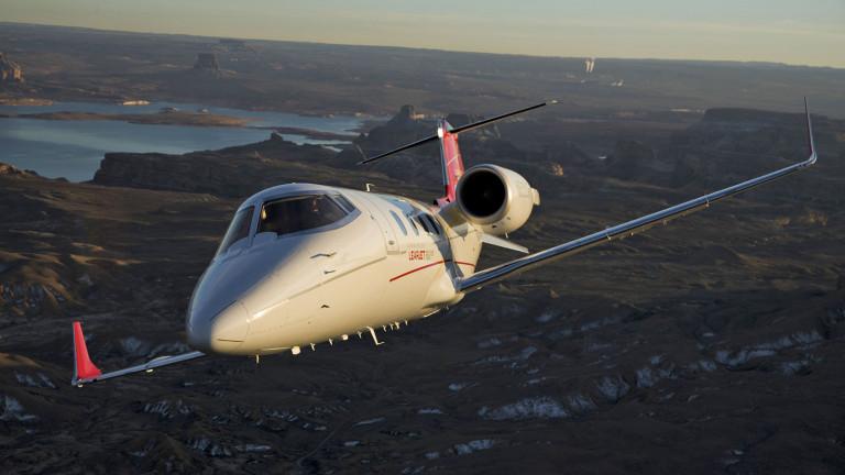 Bombardier_Learjet_60XR_Exterior