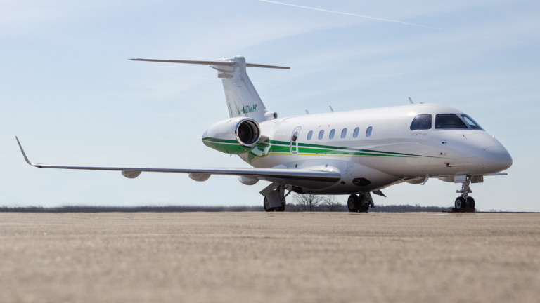 Embraer Legacy 500 Exterior for sale by BAS M-MDMH